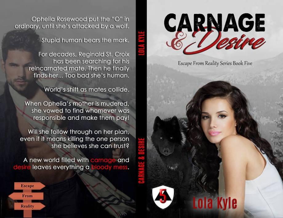 Lola Kyle - Carnage & Desire Full Wrap NEW
