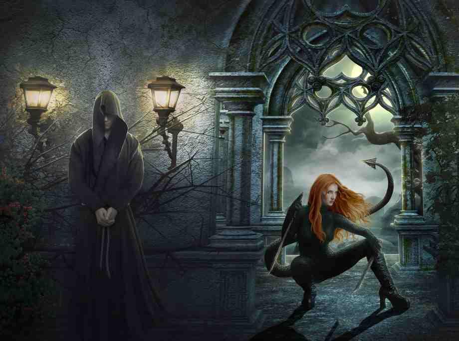 Dark Lands Full Cover Wrap Art