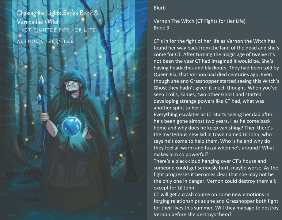 Vernon The Witch cover and blurb