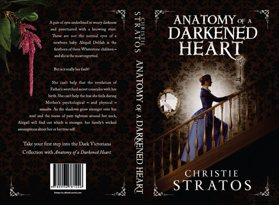 Anatomy of a Darkened Heart Paperback Cover