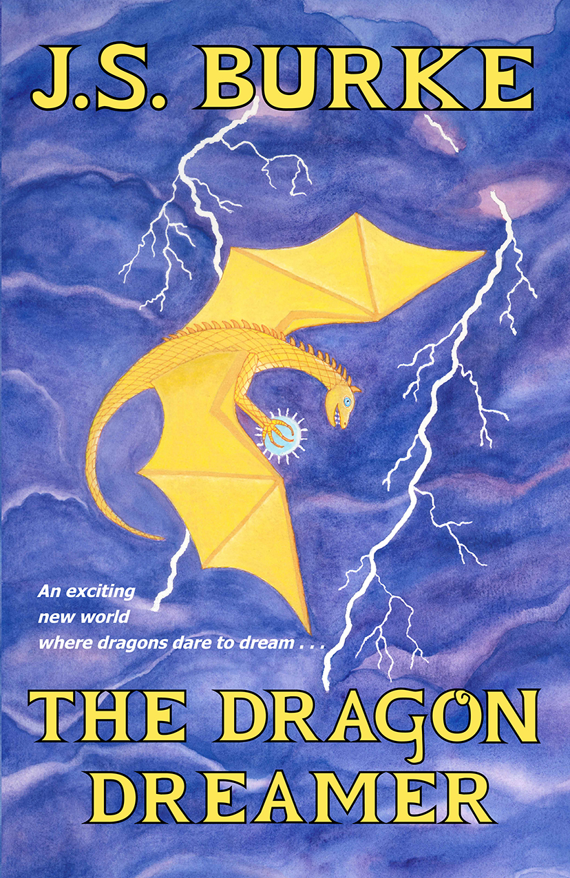 DRAGON DREAMER by JS Burke front cover