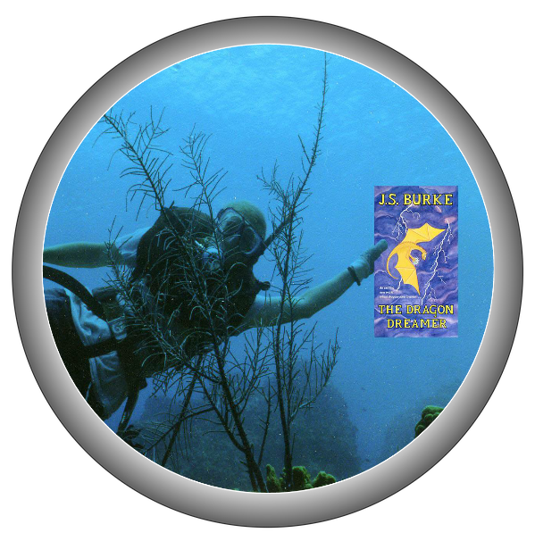 J.S. BURKE DIVER IN ROUND FRAME cropped more