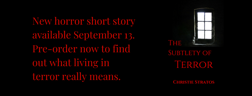 New horror short story available September 13.Pre-order now to find out what living in terror really means.